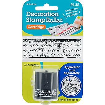 Decoration Stamp Roller-French Text