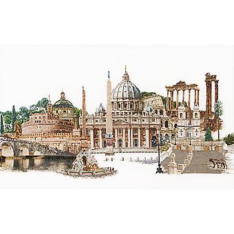 Rome On Aida Counted Cross Stitch Kit-31