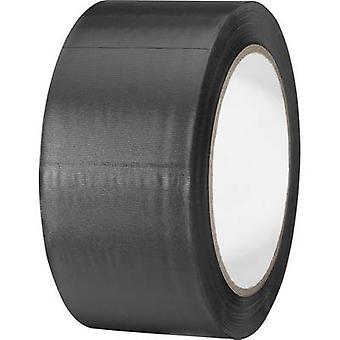 TOOLCRAFT 832450S-C PVC tape Black (L x W) 33 m x 50 mm 1 Rolls