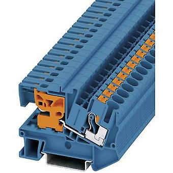 Phoenix Contact PTN 6 3213967 N terminal Number of pins: 2 0.5 mm² 6 mm² Blue 1 pc(s)