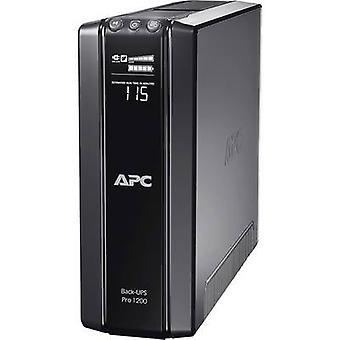 UPS 1200 VA APC by Schneider Electric Back UPS BR1200G-GR