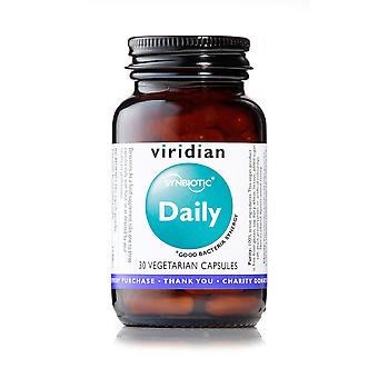 Viridian Synbiotic Daily (formerly called Tri-Blend Acidophilus with FOS) 30 vegi caps