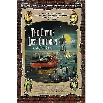 City of lost children poster Ron Perlman