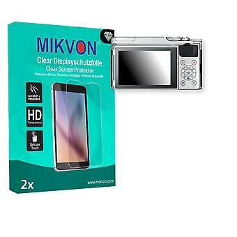 Fujifilm X-A10 Screen Protector - Mikvon Clear (Retail Package with accessories)