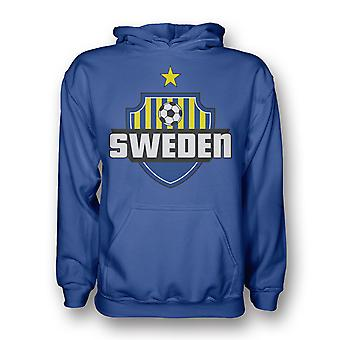 Sweden Country Logo Hoody (blue)