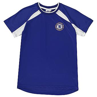 Source Lab Kids Chelsea Poly T Shirt Infant Boys Football Sports Training Top