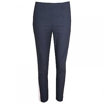 Laurie Pull On Slim Fit Sports Stripe Trousers