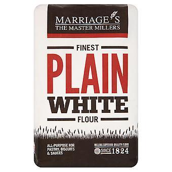 Ehen feinsten schlicht weißes Mehl