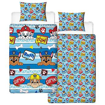 Paw Patrol Peek bed set bed set 135 x 200 + 48 x 74 cm