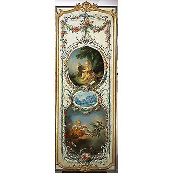 Las artes y las Ciencias, Francois Boucher, 80x40cm
