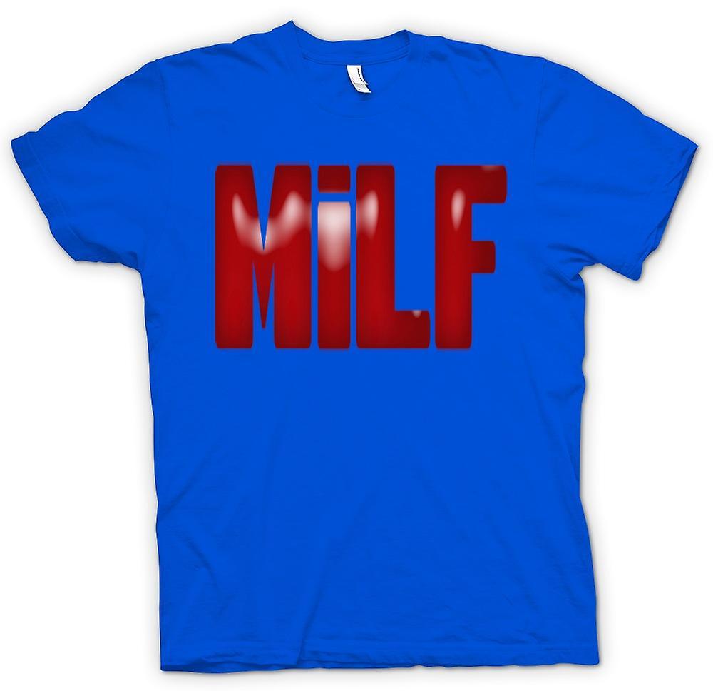 Mens T-shirt-MILF - Funny - Yummy Mummy