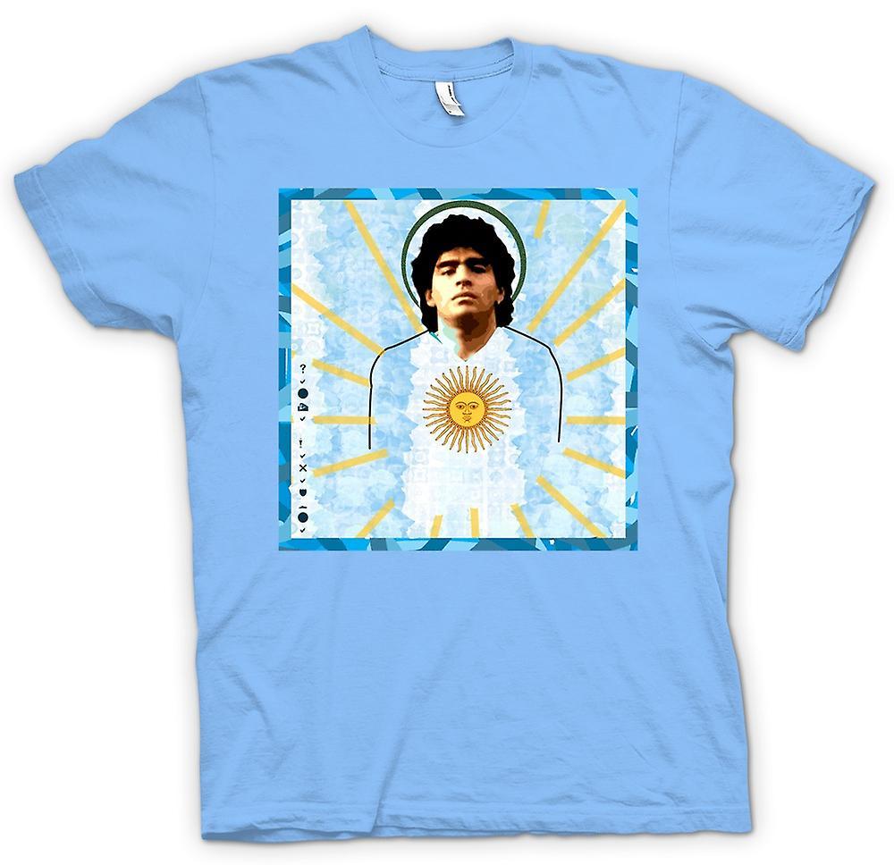 Mens T-shirt - Maradona Argentinien - Fußball