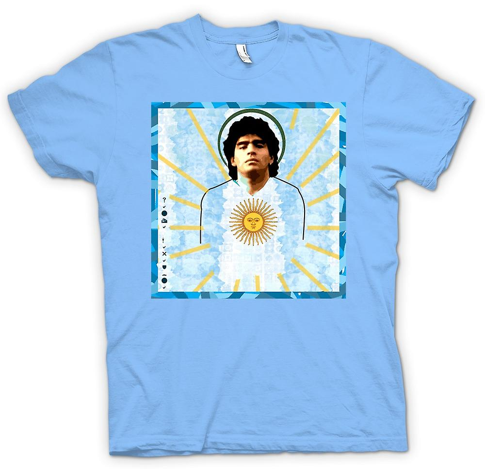 Herr T-shirt - Maradonna Argentina - fotboll