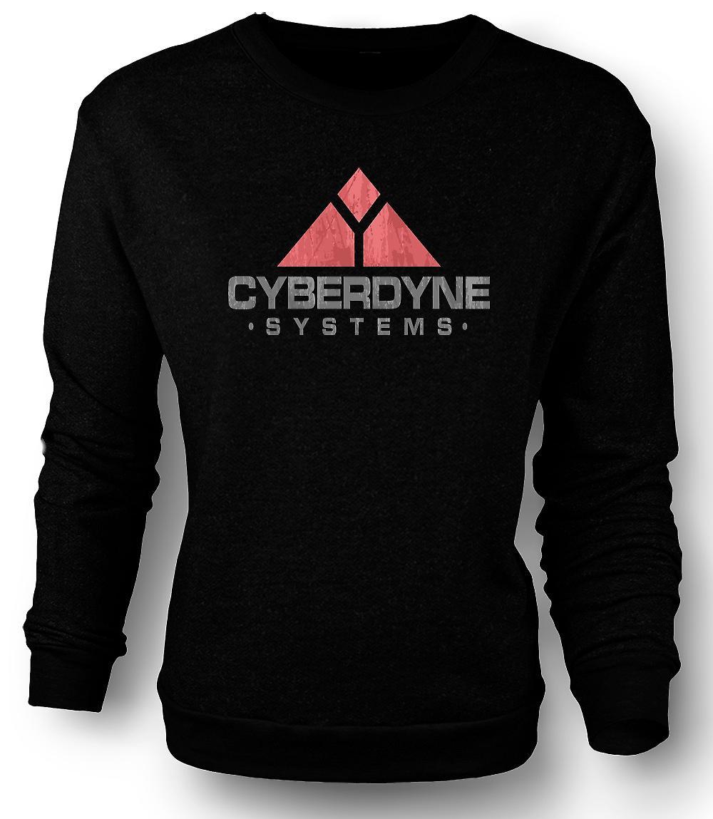 Mens Sweatshirt Cyberdyne systemen - Terminator