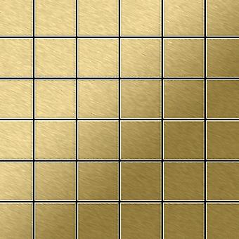 Metal mosaic Titanium ALLOY Cinquanta-Ti-GB