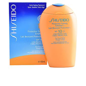 Shiseido Sun Tanning Emulsion für Körper Spf10 150 Ml für Damen