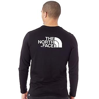 The North Face TNF Black Easy Long Sleeved T-Shirt