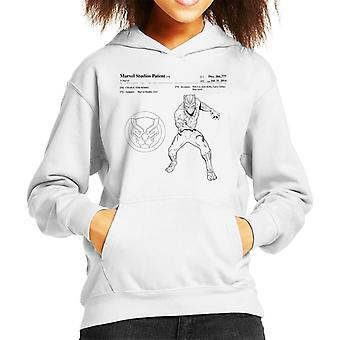 Marvel Black Panther Patent Claw Grab Kid's Hooded Sweatshirt