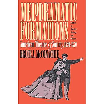 Melodramatic Formations: American Theatre and Society, 1820-1870