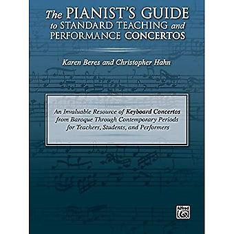 The Pianist's Guide to Standard Teaching and Performance Concertos: An Invaluable Resource of Keyboard Concertos from Baroque Through Contemporary� Periods for Teachers, Students, and Performers