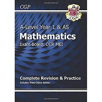 Nueva matemáticas de un nivel para OCR MEI: año 1 y como completar la revisión y práctica con la edición en línea