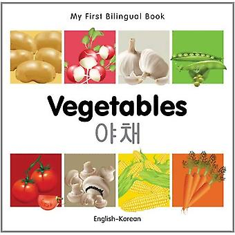 My First Bilingual Book - Vegetables - English-Korean