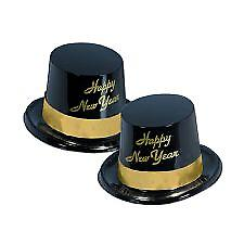 Happy New Year Top Hats - Black and Gold Legacy (10)