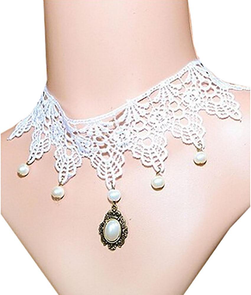 Waooh - Tour de cou avec pendentif perle Mhic