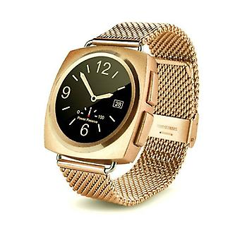 Stuff Certified ® Original A11 Smartphone Watch OLED SmartWatch Android iOS Gold Metal