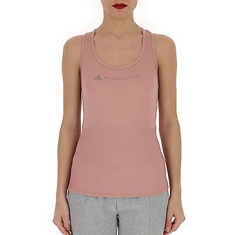 Adidas By Stella Mccartney Pink Polyester Top