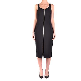 Pinko Black Polyester Dress