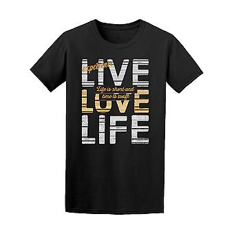 Live Love Surf  Tee Men's -Image by Shutterstock
