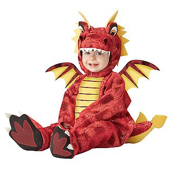 Adorable Dragon Fire Medieval Story Book Week Boys Toddler Infant Costume