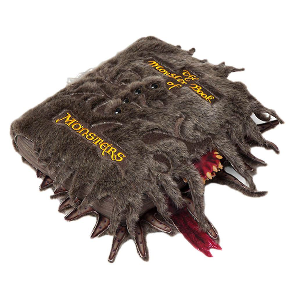 Harry Potter le monstre livre de peluche de collectionneur de monstres