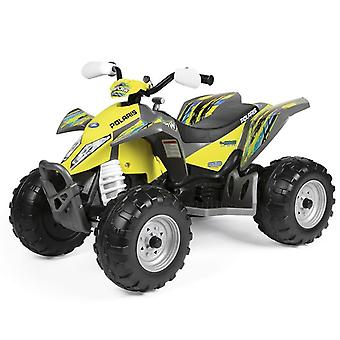 Peg Perego Polaris Outlaw 12V Quad Bike Citrus