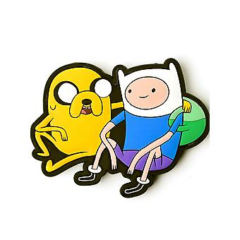 Adventure Time Multicolor Jake And Finn Belt Buckle