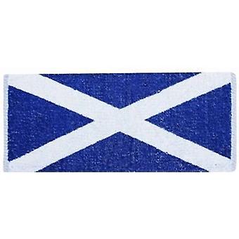 Toalla de barra de algodón de bandera escocesa de Escocia 500mm x 225mm (pp)