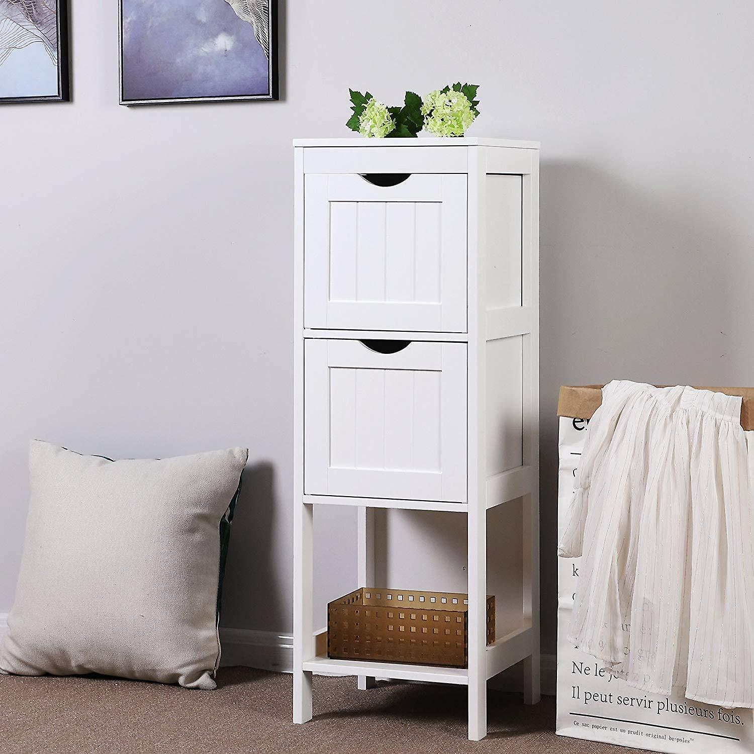 Bathroom cabinet with removable baskets