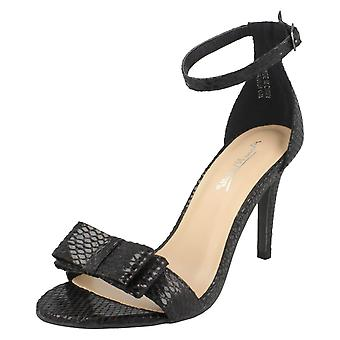 Ladies Anne Michelle Ankle Strap Sandals F10904
