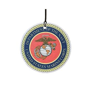 US Navy Marine Corps Armed Forces Car Air Freshener