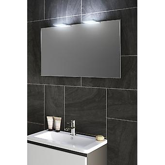 Ambient Audio Shaver LED Top Light Mirror With Demister Pad - Capteur k490