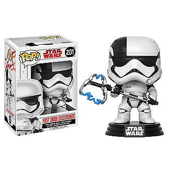 Star Wars First Order Executioner Episode VIII Last Jedi Pop