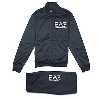 Ea7 Emporio Armani EA7 Large Logo Tracksuit Night Blue