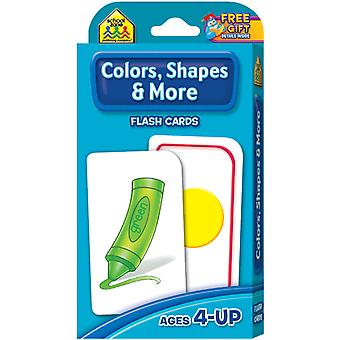 Flash Cards Colors Shapes And More 41 Pkg Szflc 4011