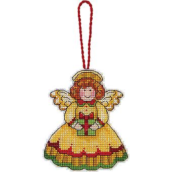 Susan Winget Angel Ornament Counted Cross Stitch Kit 3 1 4