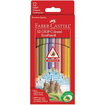 Grip Colored Ecopencils 12 Pkg 9121012