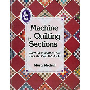 Marti Michell Books Machine Quilting In Sections Mi 8025