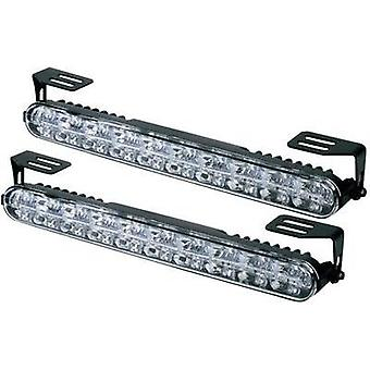 Daytime running lights, Side marker LEDs (W x H x D) 230 x 28 x 35 mm DINO 610790 610790
