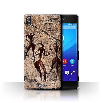 STUFF4 Case/Cover for Sony Xperia Z4/Dance/Music/Cave Painting