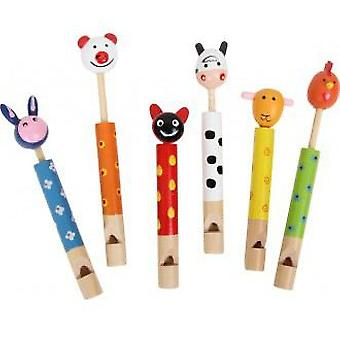 Legler Flutes  animals  (Toys , Educative And Creative , Music , Instruments)